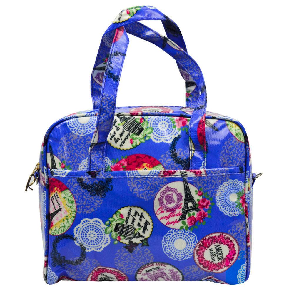 Bolsa Feminina Necessaire Térmica Paris Azul CBRN17003