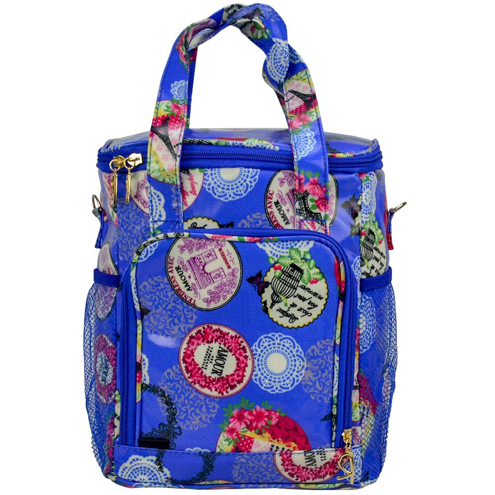 Bolsa Feminina Necessaire Térmica Paris Azul CBRN17089