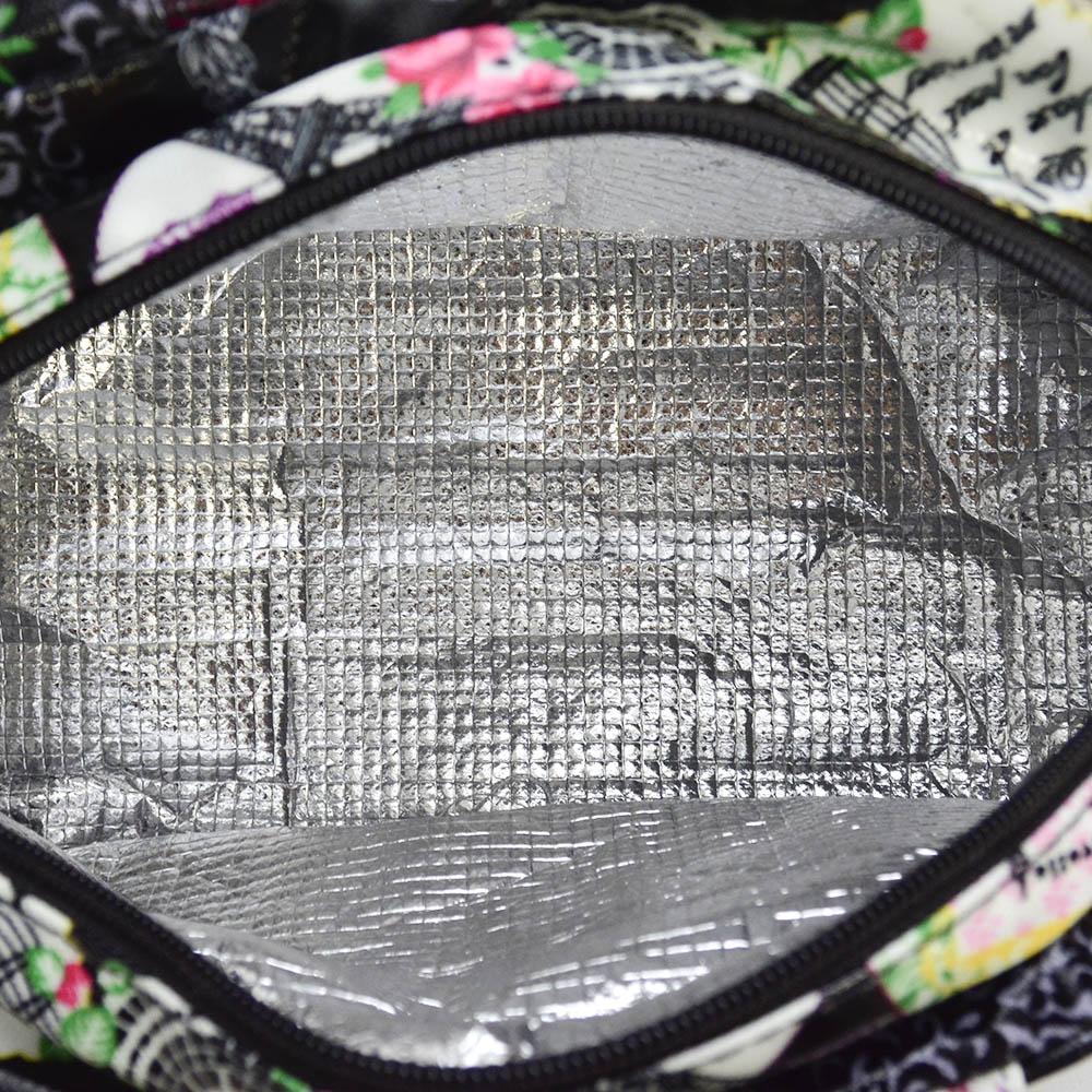 Bolsa Feminina Necessaire Térmica Paris Branco CBRN16693