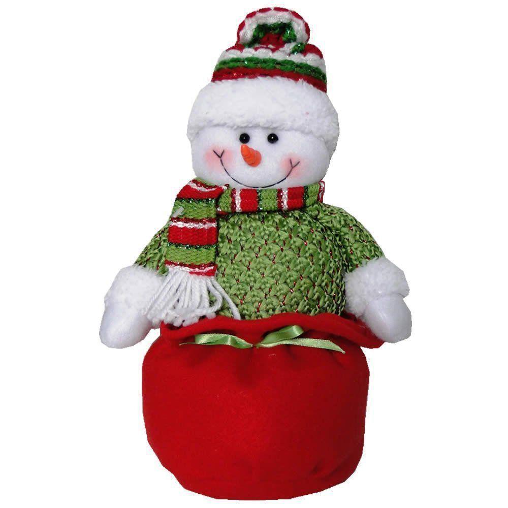 Boneco de Neve em Pelúcia com 30cm de Altura CBRN0234 CD0019