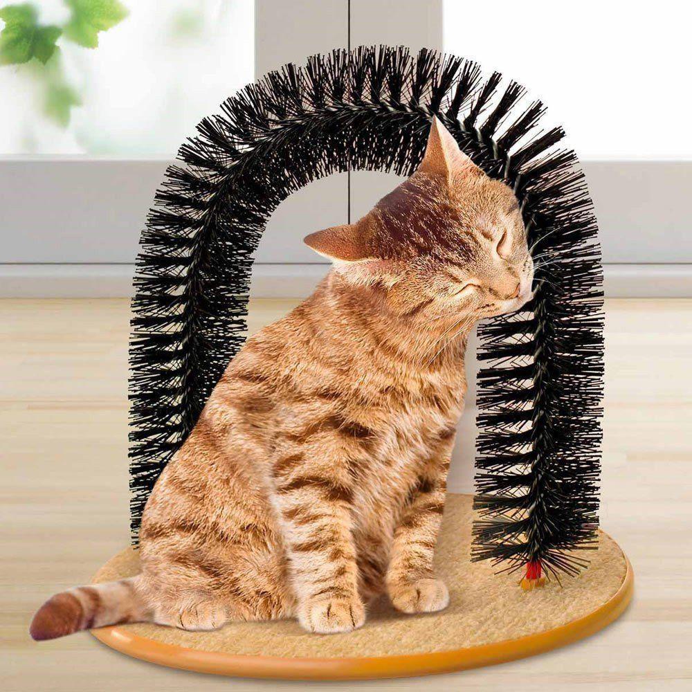 Brinquedo Arco Massageador Arranhador para Gatos CBR03426