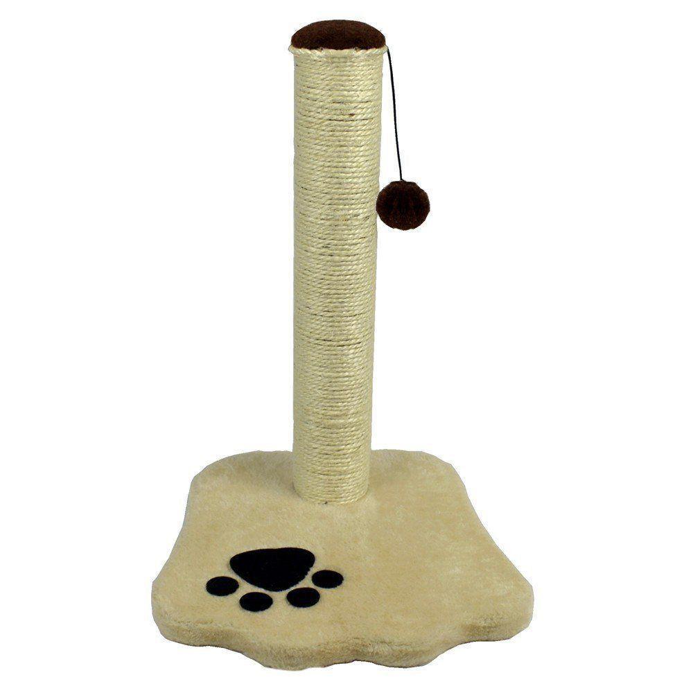 Brinquedo Arranhador para gatos creme CBR03327
