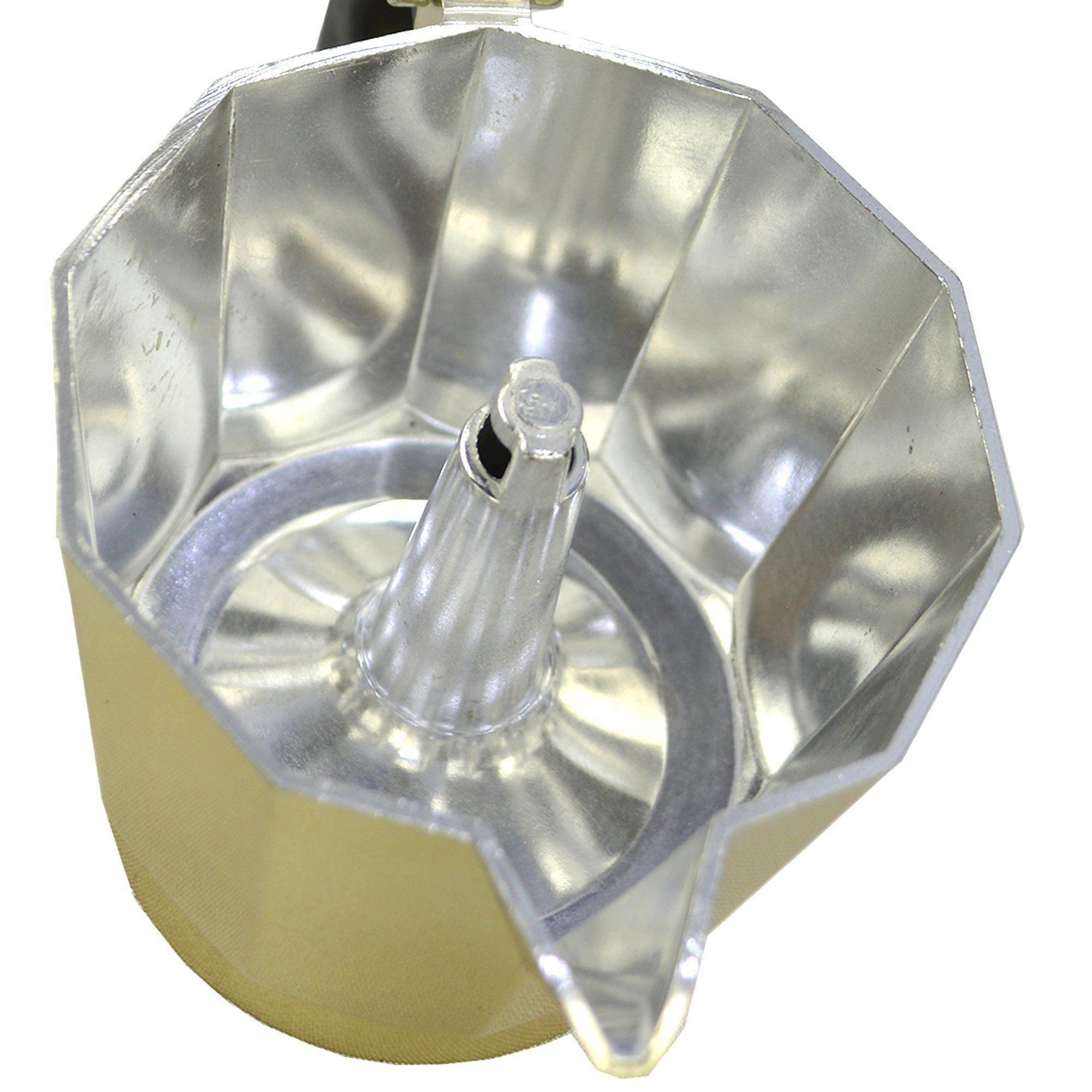 Cafeteira Italiana de Alumínio 9 Xícaras Dourado CBRN08971