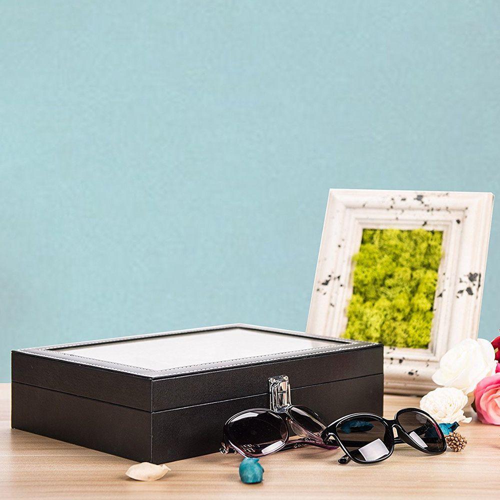Caixa Organizadora Para Óculos Estojo 8 ÓculosCBRN10486