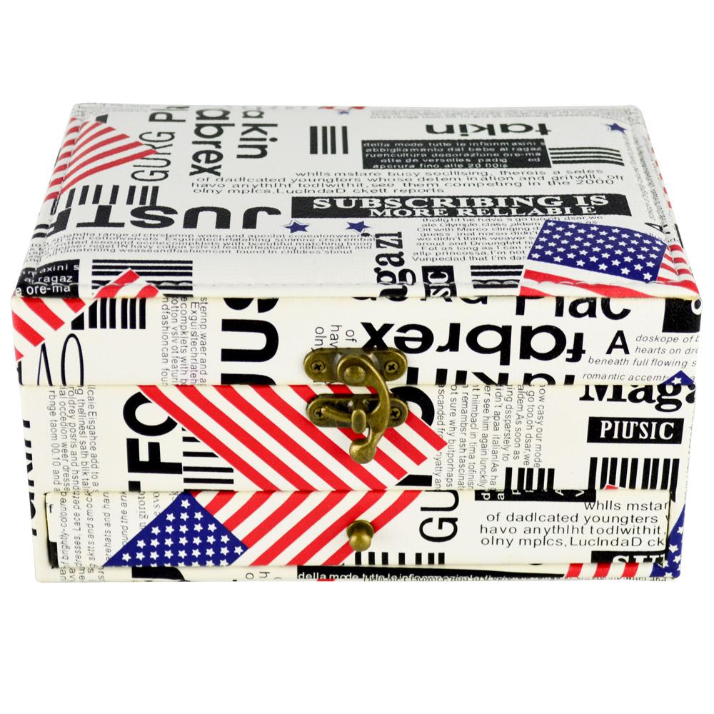 Caixa Para Joias Bijuteria Gaveta EUA CBRN16419