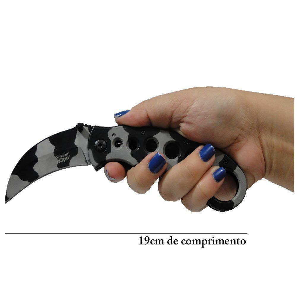 Canivete Karambit Tático SWAT WMTZH205