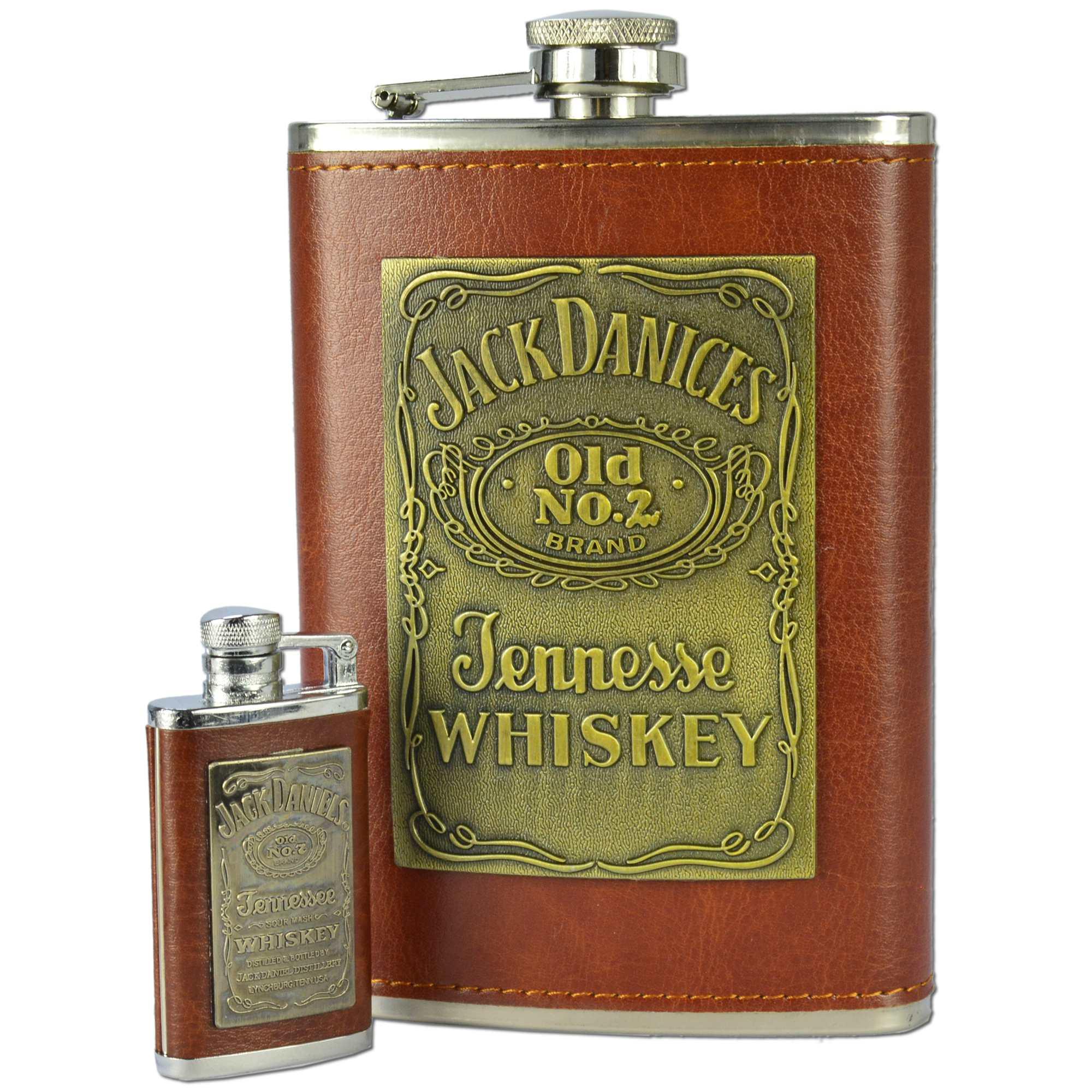 Cantil de Bolso Porta Bebida Whisky Isqueiro CBRN10516