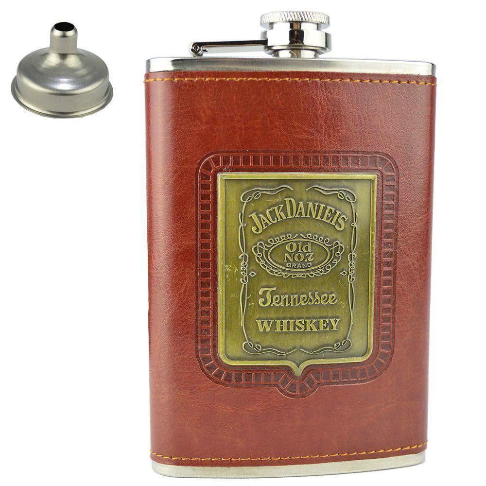 Cantil De Bolso Porta Bebida WhiskyCachimbo CBRN09008
