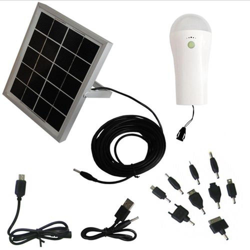 Carregador Solar Multifunção com Luminária Solar  - EY7001