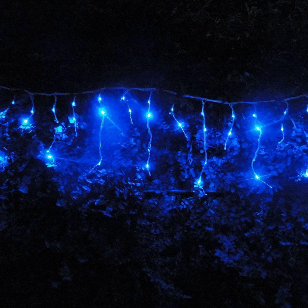 Cascata Luminosa 150 LEDs Azul 220v 3,6m 1315