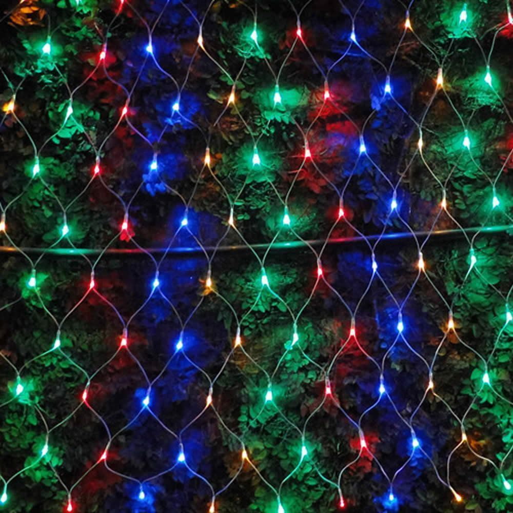 Cascata Luminosa Pisca COLORIDA 220 VOLTS WMT1123 4 Fases 160 LED