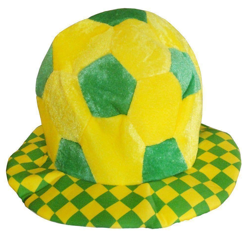 Chapéu Bola Torcida do Brasil Copa do Mundo QMM-005