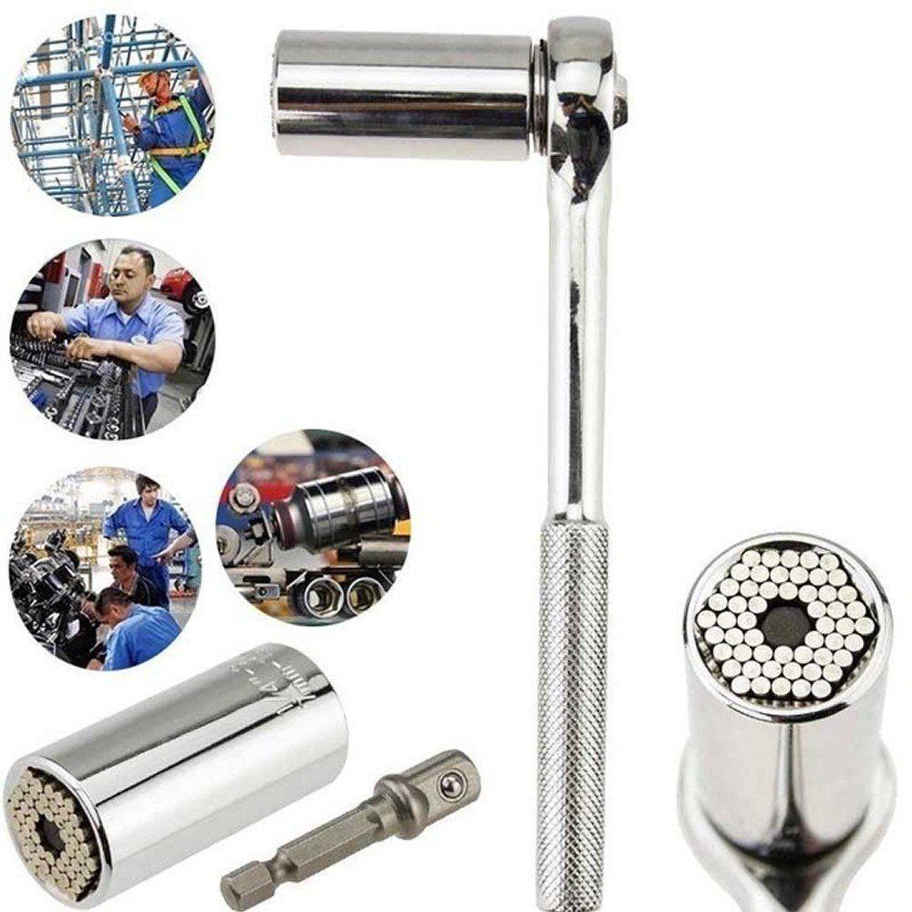 Chave de boca universal Grip multi uso Com Catraca CBR03396
