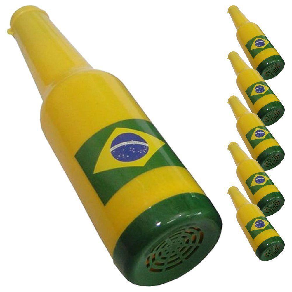 Corneta Garrafa Copa do Mundo AMARELO 5 PEÇAS CBRN06144