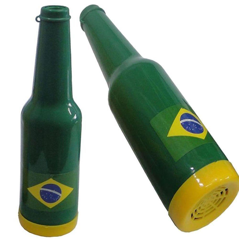 Corneta Garrafa Copa do Mundo VERDE 5 PEÇAS CBRN06151
