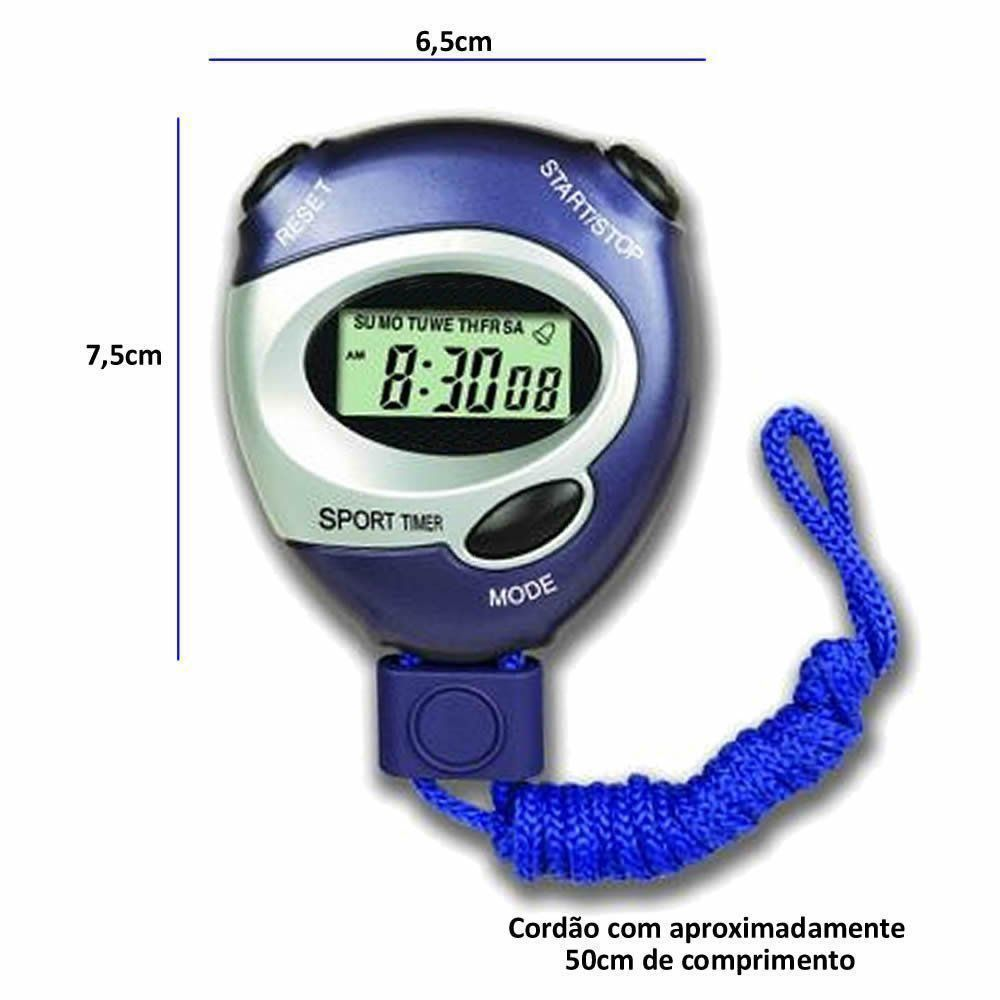 Cronometro Progressivo Digital C/ Alarme CBRN02825