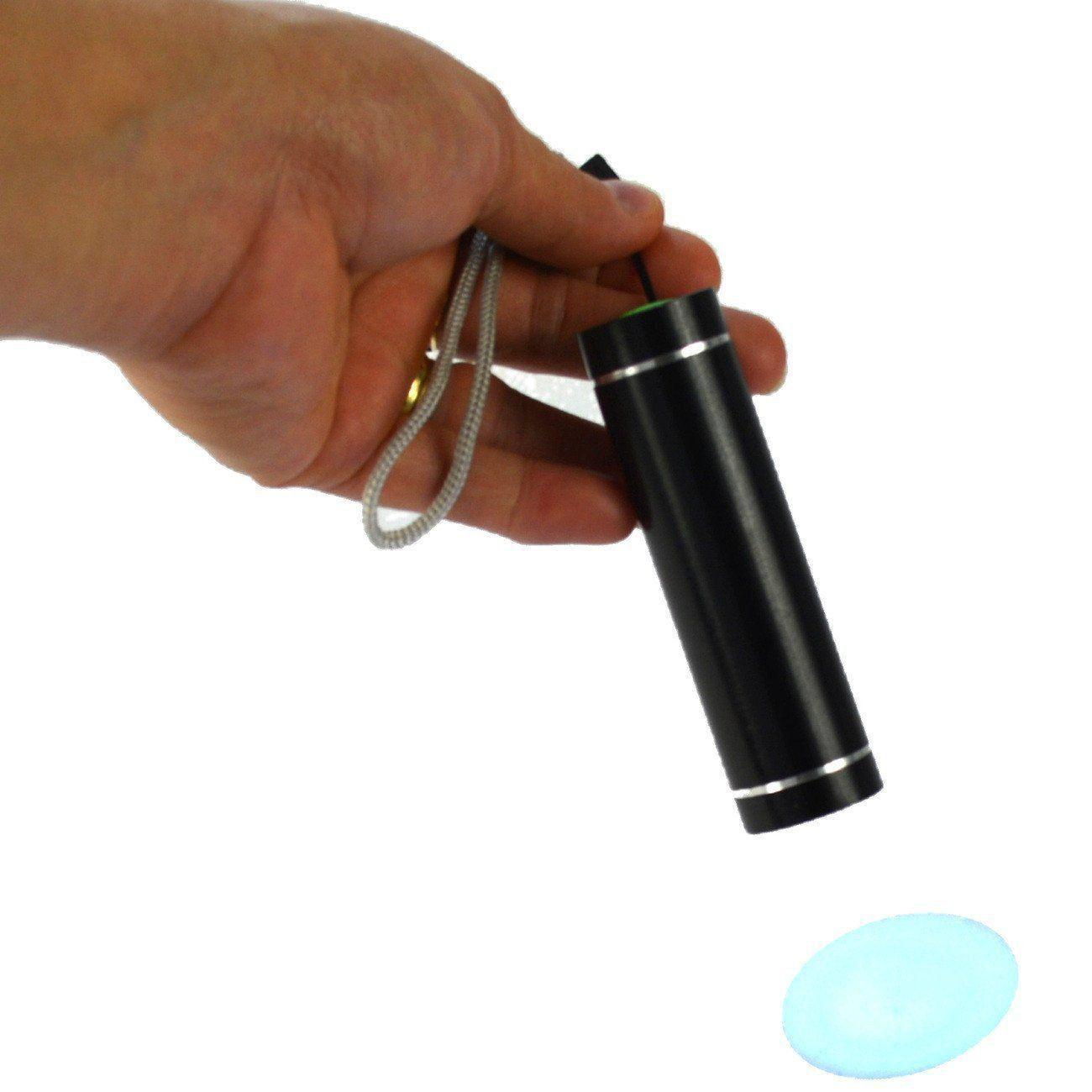 Detector de Dinheiro Falso Escorpião Portátil Preto Kit 5 Peças CBRN07264