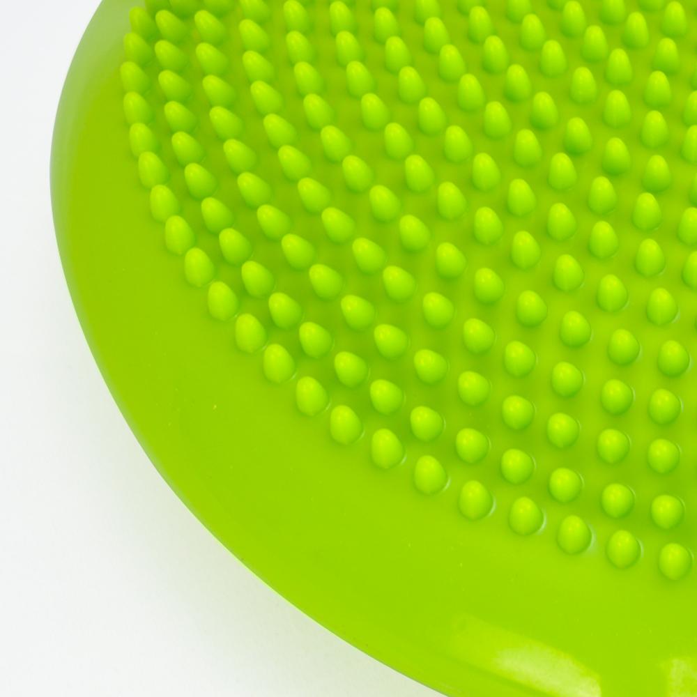 Disco de Equilíbrio Para Exercícios Inflável 33 cm Verde Claro + Chaveiro CBRN16020