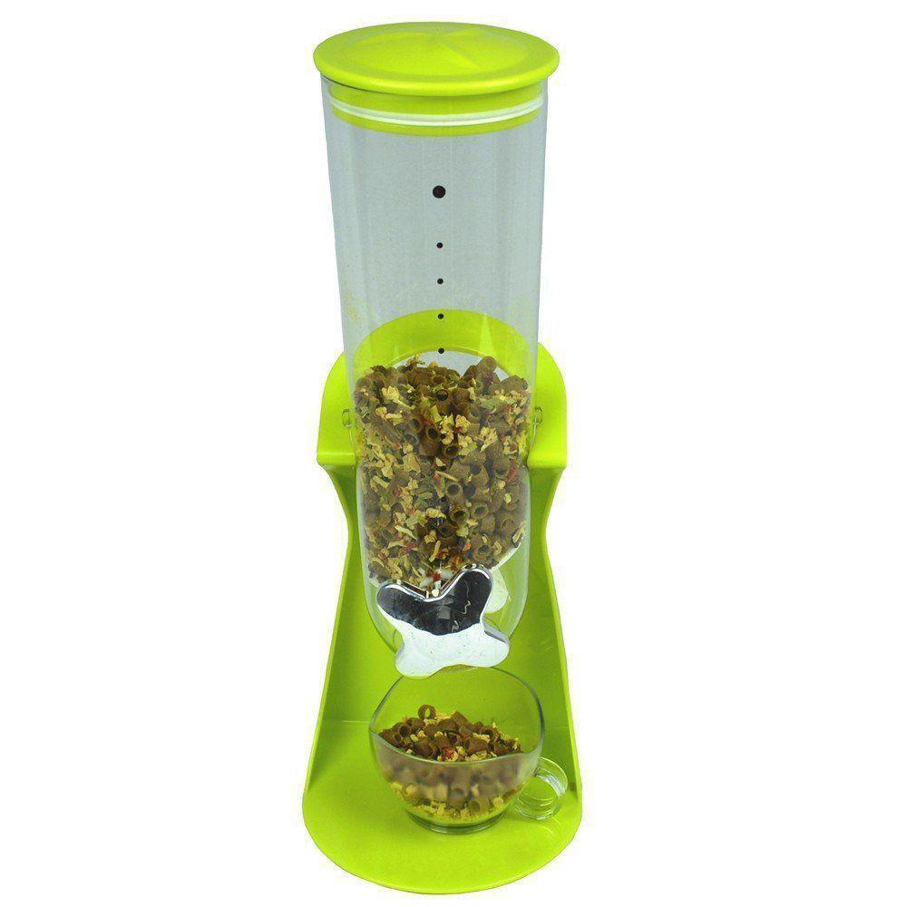 Dispenser De Cereais Grãos e alimentos para Cozinha verde CBR04423