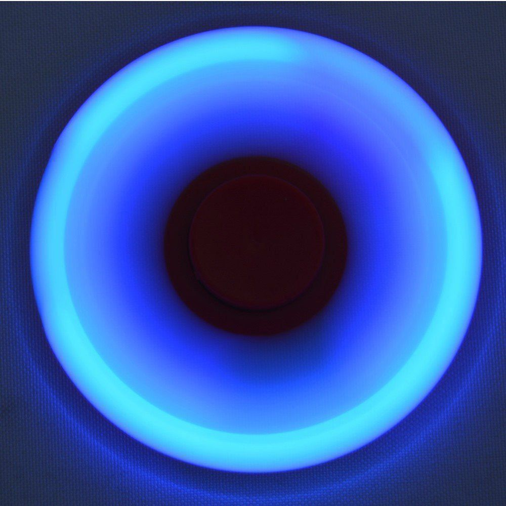Fidget Hand Spinner Anti Stress com LED VERDE CBRN03860