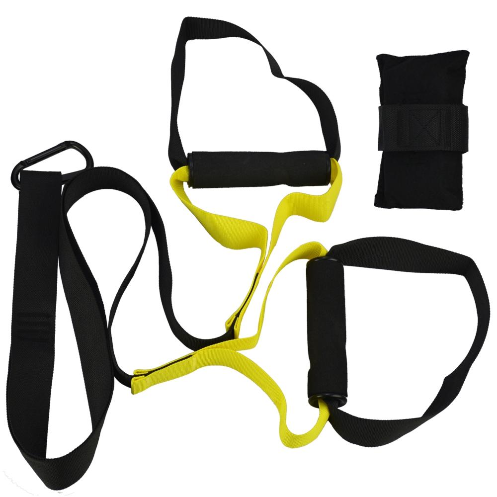 Fita de Treino Funcional Suspenso Exercício Musculação + Suporte Celular  CBRN15832