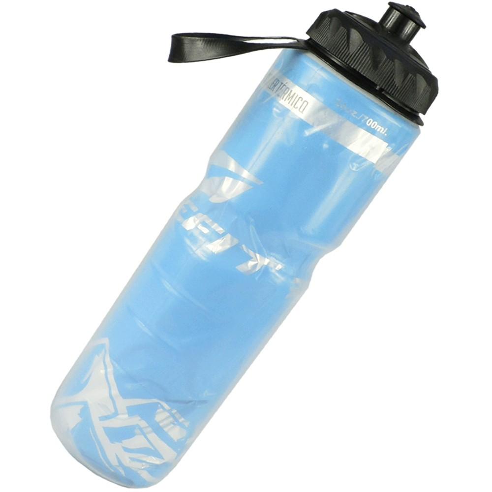 Garrafa de Água Squeeze Caramanhola Térmica Hidratação 700 ml Azul CBRN12428