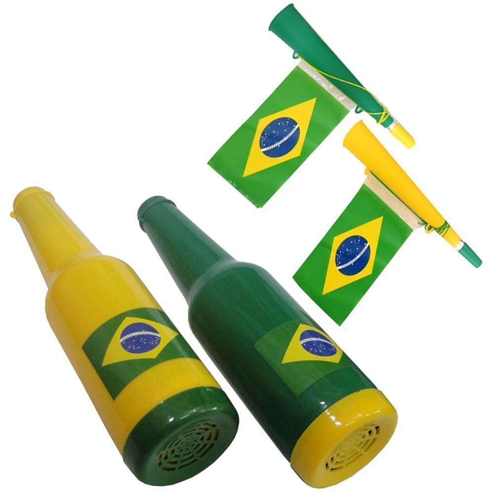 Kit Torcedor Brasil Olimpiada para Carro 14 Itens