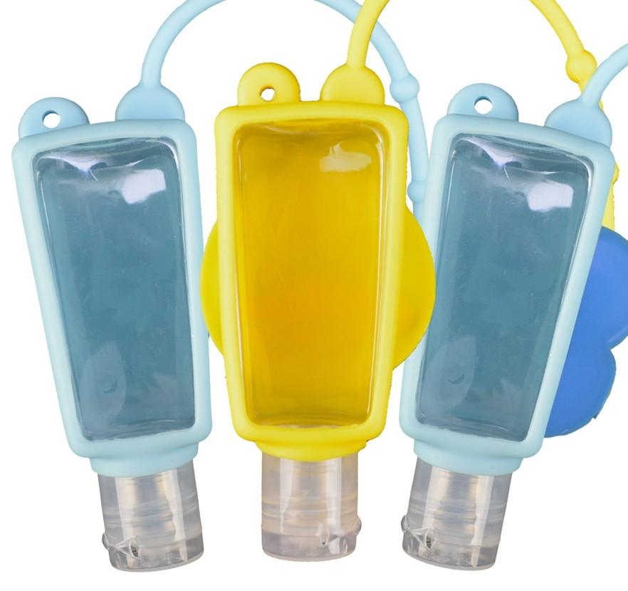 Kit Porta Álcool em Gel Portátil 30ml 6 peças Infantil 2 CBRN15429