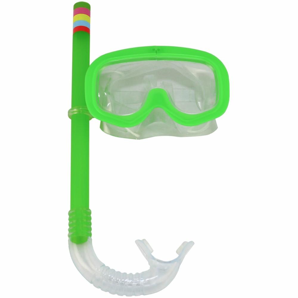 Kit Snorkel Infantil Piscina Verde CBRN15238