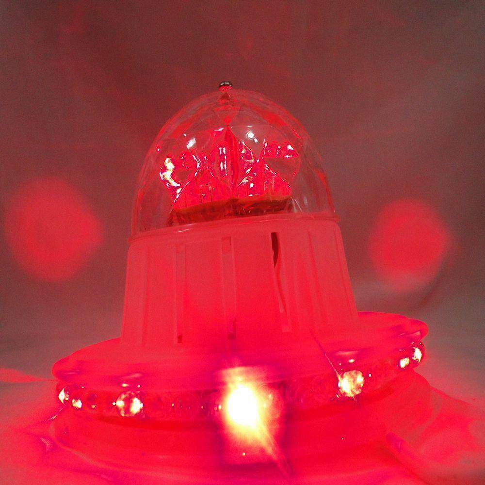 Lâmpada Disco com 72 Leds RGB Colorido 4w 110v DS-1802