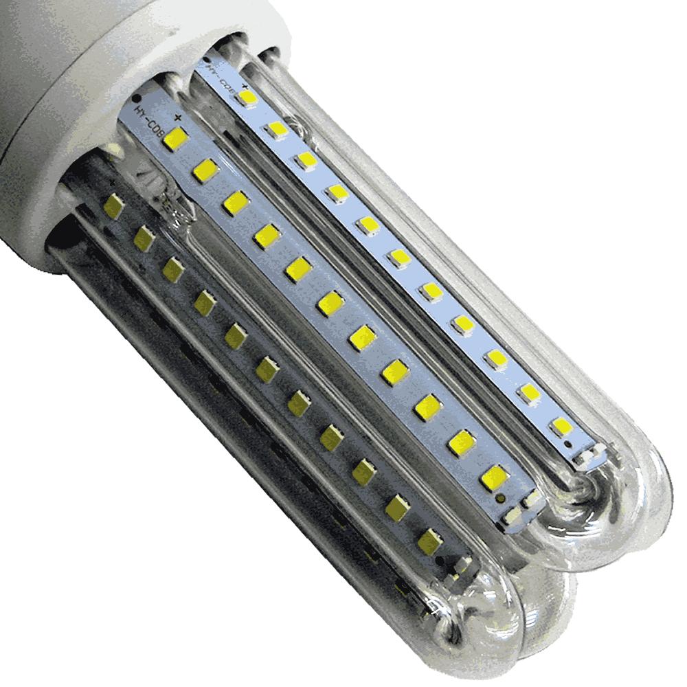 Lâmpada Led 16W Kit 5 Unidades E27 Branco Frio 6400k Econômica Bi volt WMT2426