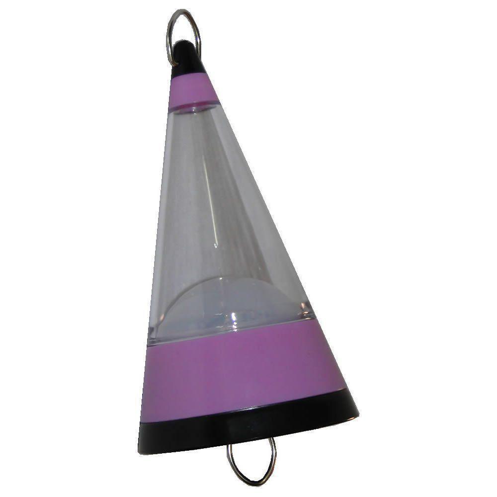 Lanterna Lampião Camping de Pendurar a Pilhas 12 LEDs WMTLL80091 Lilás