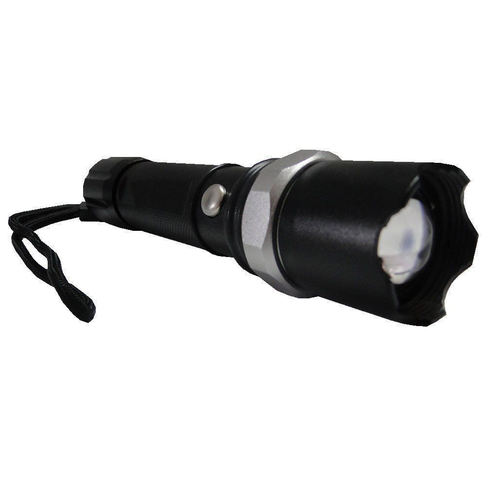 Lanterna Tática Policial Led Cree Recarregável 18000w ZQW110/YBF-110