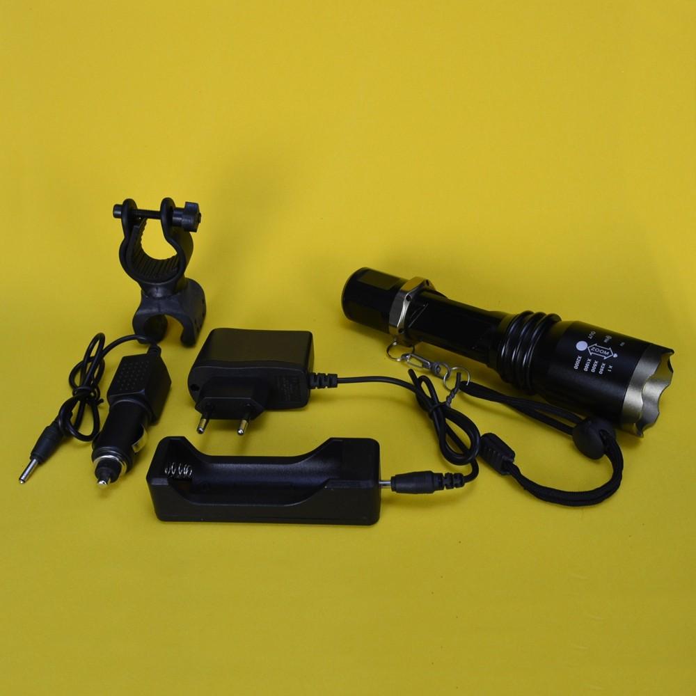 Lanterna Tática Policial LED Recarregável Zoom CBRN14583