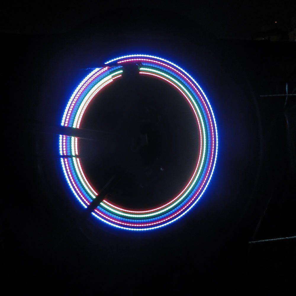Led Luminoso para Bike,Moto,Carro 5 Leds CBR1110 - YX-FG191