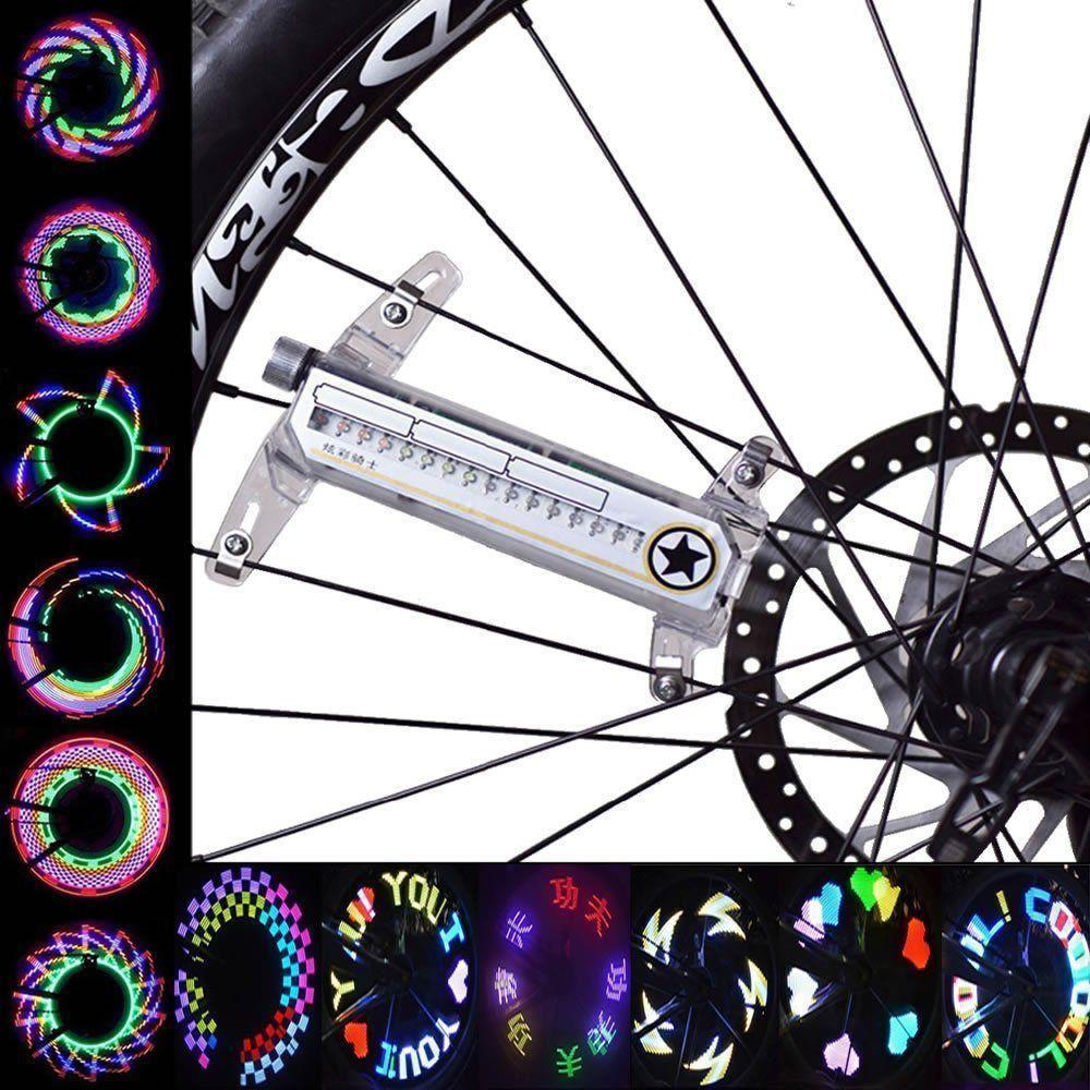 Led Luminoso Programável Desenho, Escrita para Bike,Moto com 32 Leds CBR1114