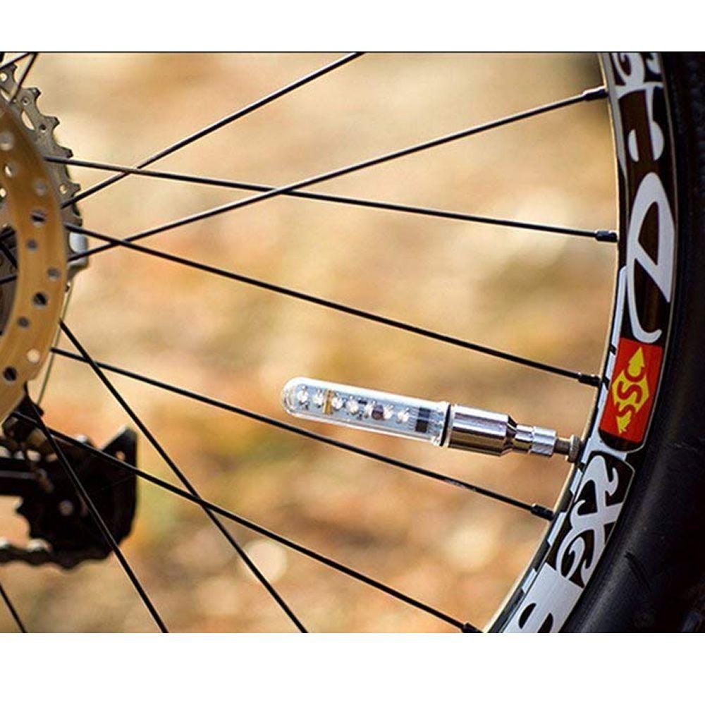 Led Para Roda De Bicicleta Bike Carro Moto 5 Leds PAR Cbr1111