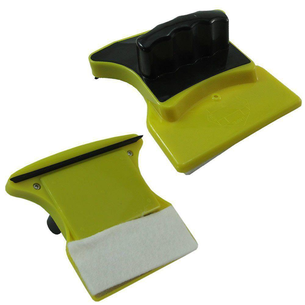 Limpador de Vidro Magnético Janela Vidraça Aquário CBR-1108