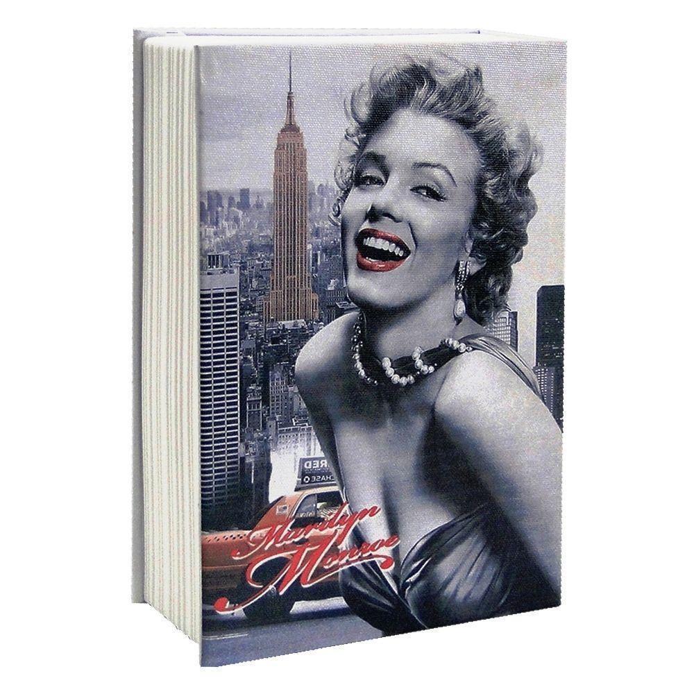 Cofre Livro Aço Book Safe 24 cm Hollywood