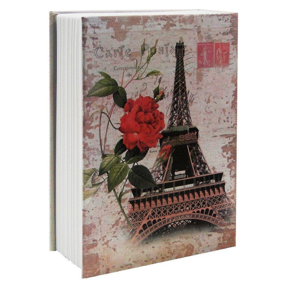 Cofre Livro Aço Book Safe 24 cm Paris