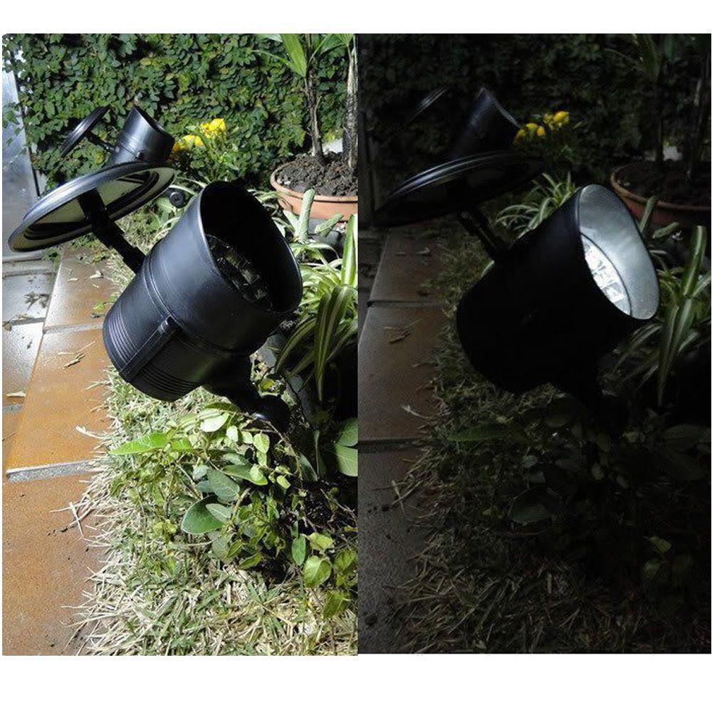 Luminária Solar para Jardim Spot 4 leds 2 peças CBRN13128