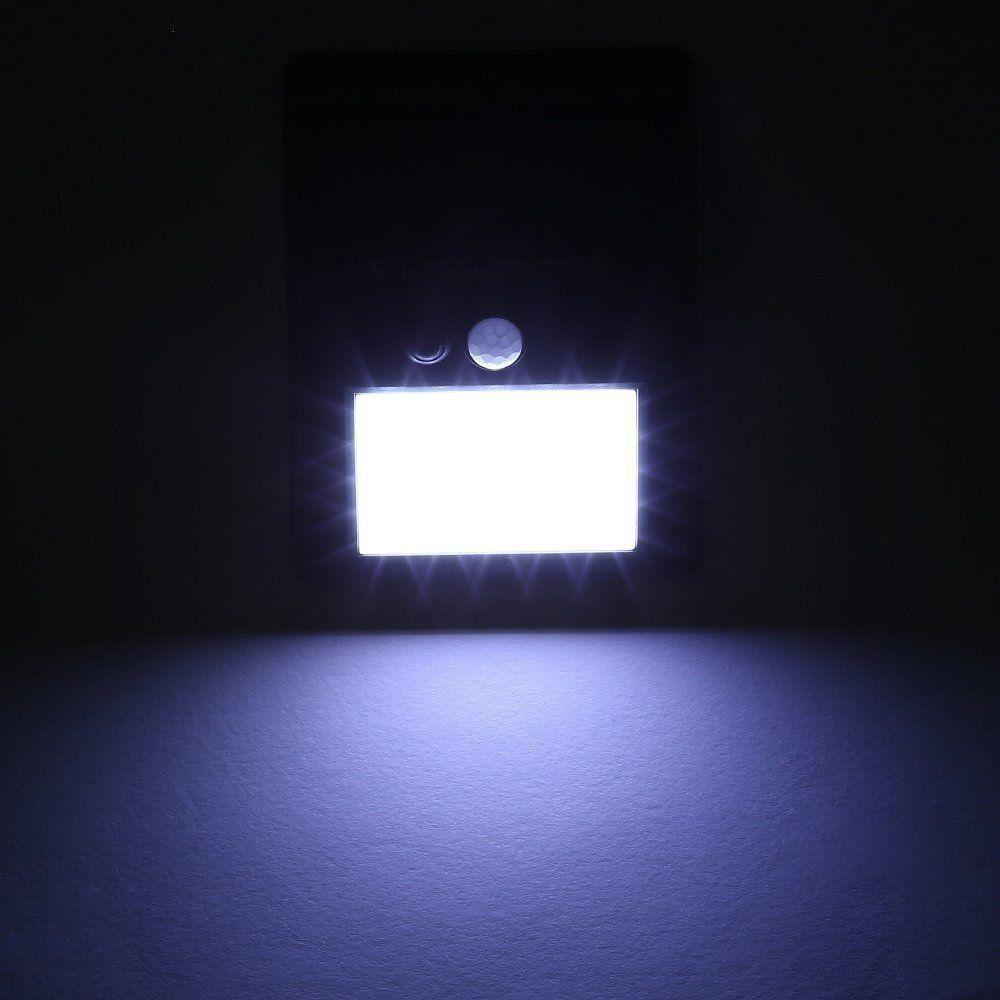 Luminária Solar Parede 30 Leds Sensor Movimento CBRN08810