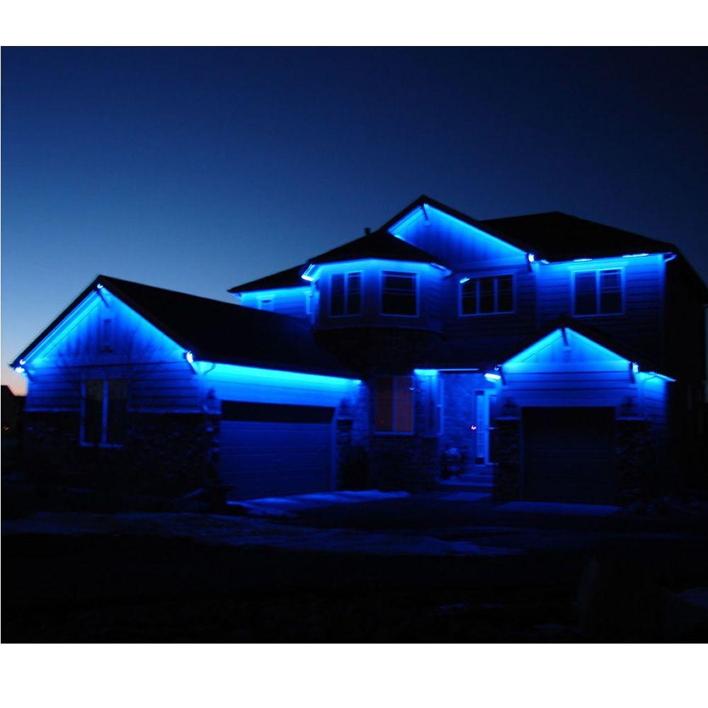 Mangueira Luminosa LED Vermelho Corda Natal Pisca Rolo 100mt 110v - 1093