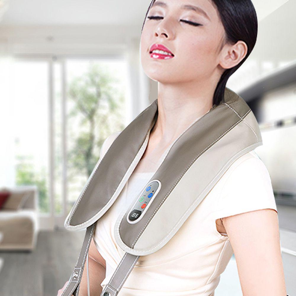 Massageador Cervical ombros lombar multifuncional 110 volts CBRN11728