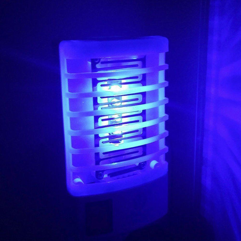 Mata Mosquito e Pernilongo Repelente LED UV Laranja 1 PEÇA CBRN14125