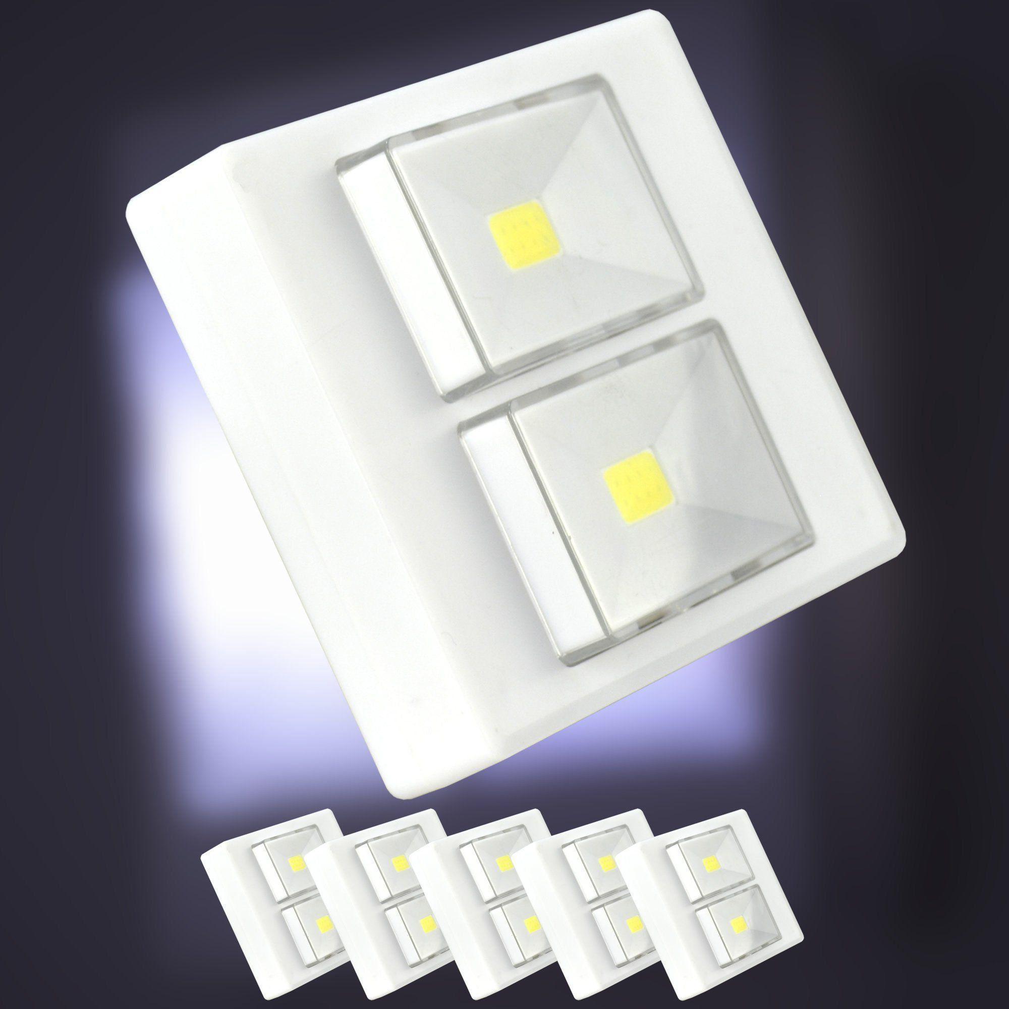 Mini Luminária LED Portátil Com Imã Kit 5 Peças CBRN06861