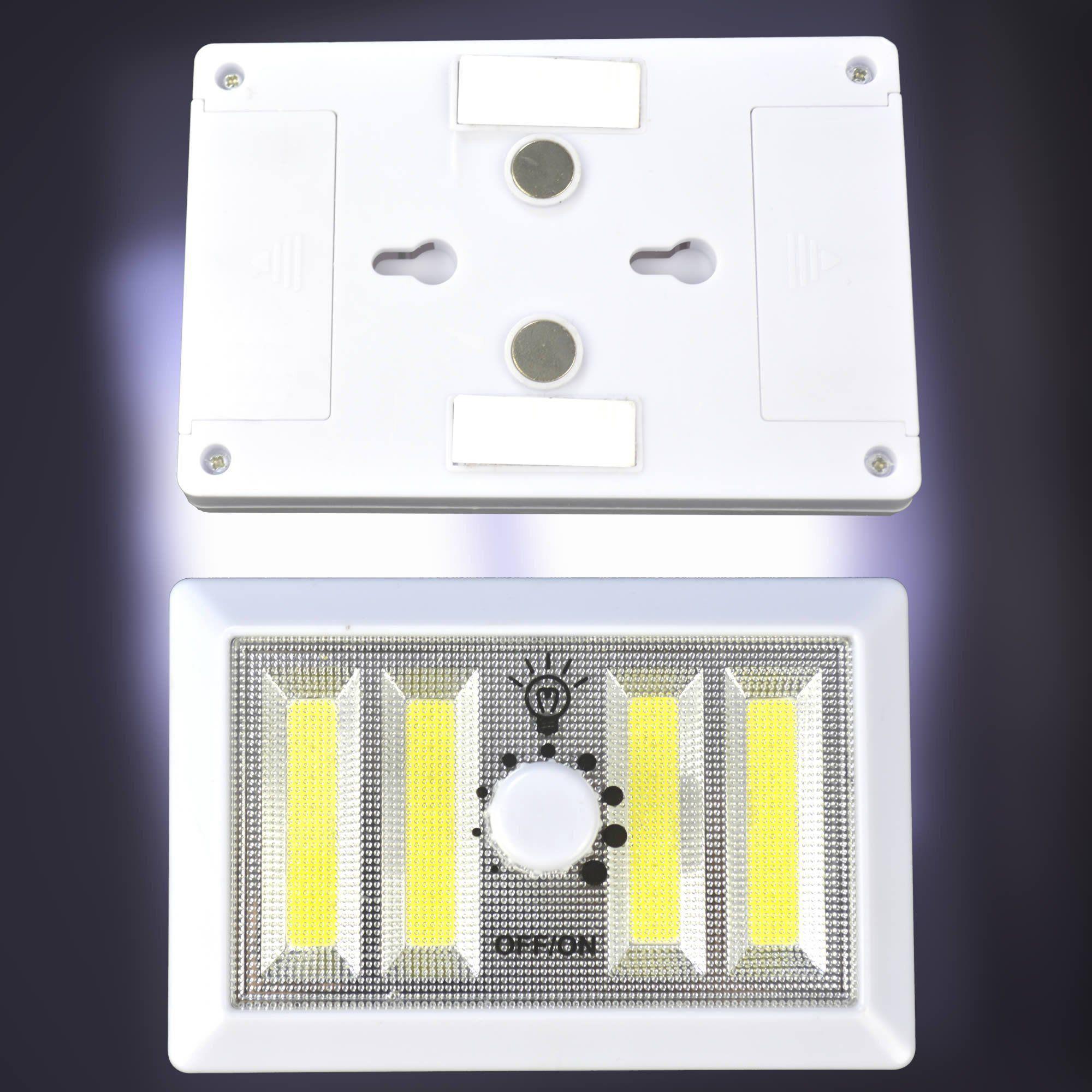 Mini Luminária LED Portátil Regulável com Imã Kit 5 Peças CBRN06878