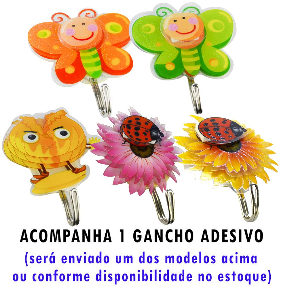 Mini Processador e Triturador de Alimentos Manual 3 Lâminas Rosa + Gancho Parede CBRN17874