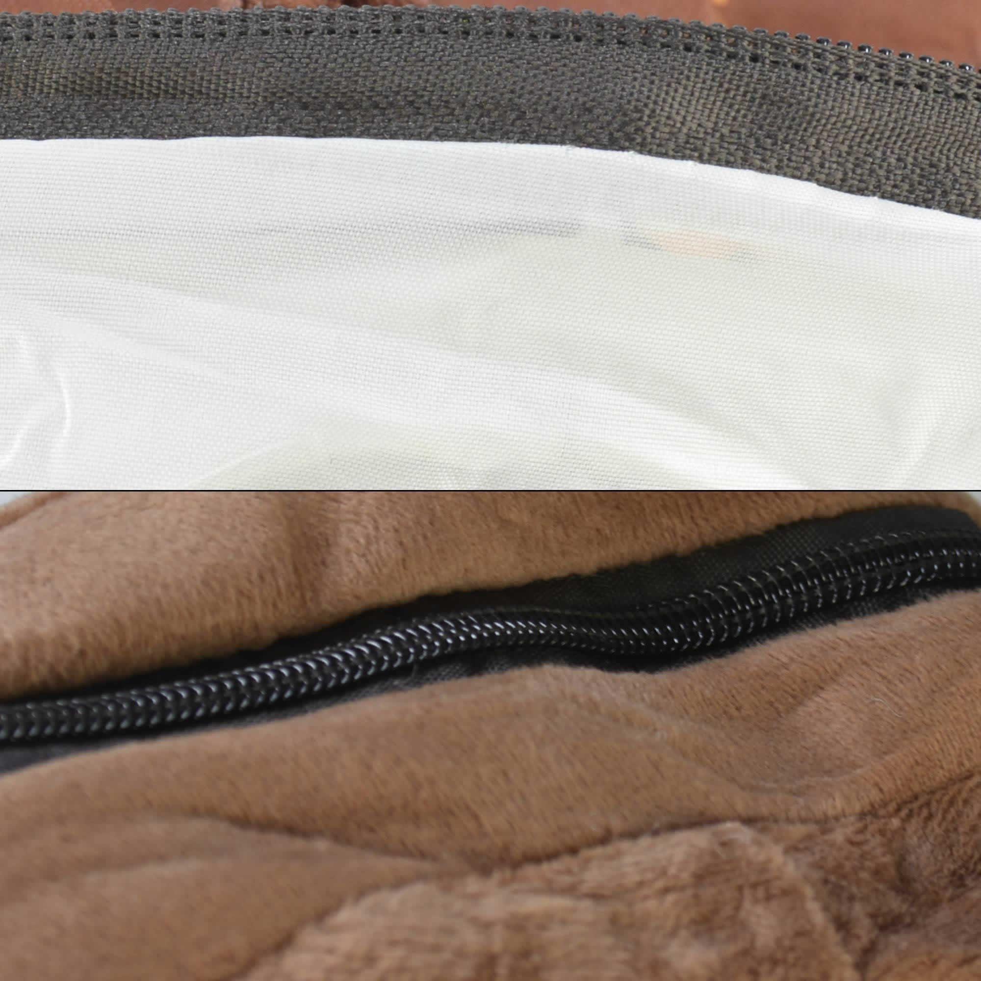 Mochila infantil Pelucia 3D cachorro chapéu marrom CBRN07448