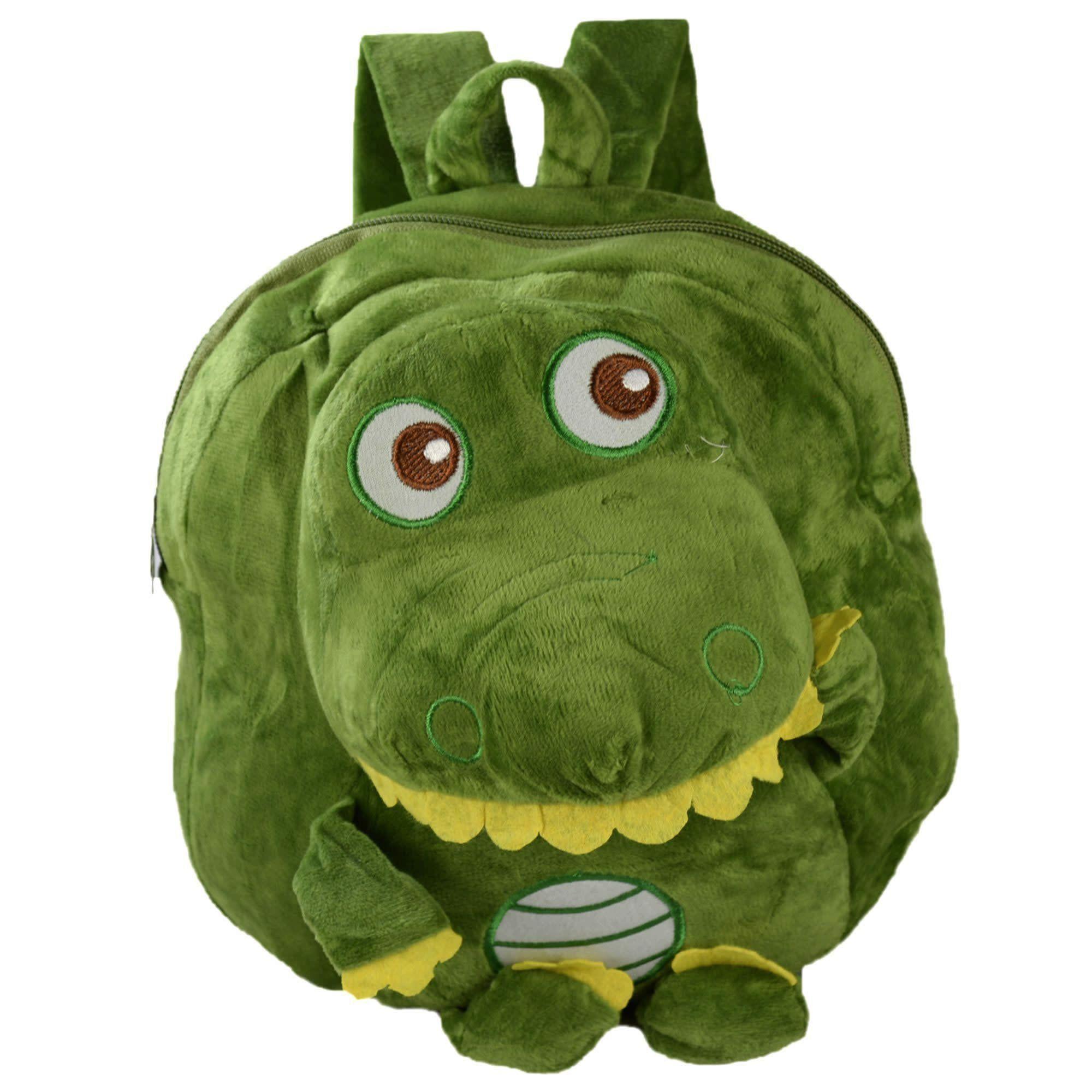 Mochila infantil Pelucia 3D dinossauro verde CBRN07493